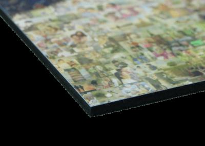 picture mosaic printed on gatorfoam