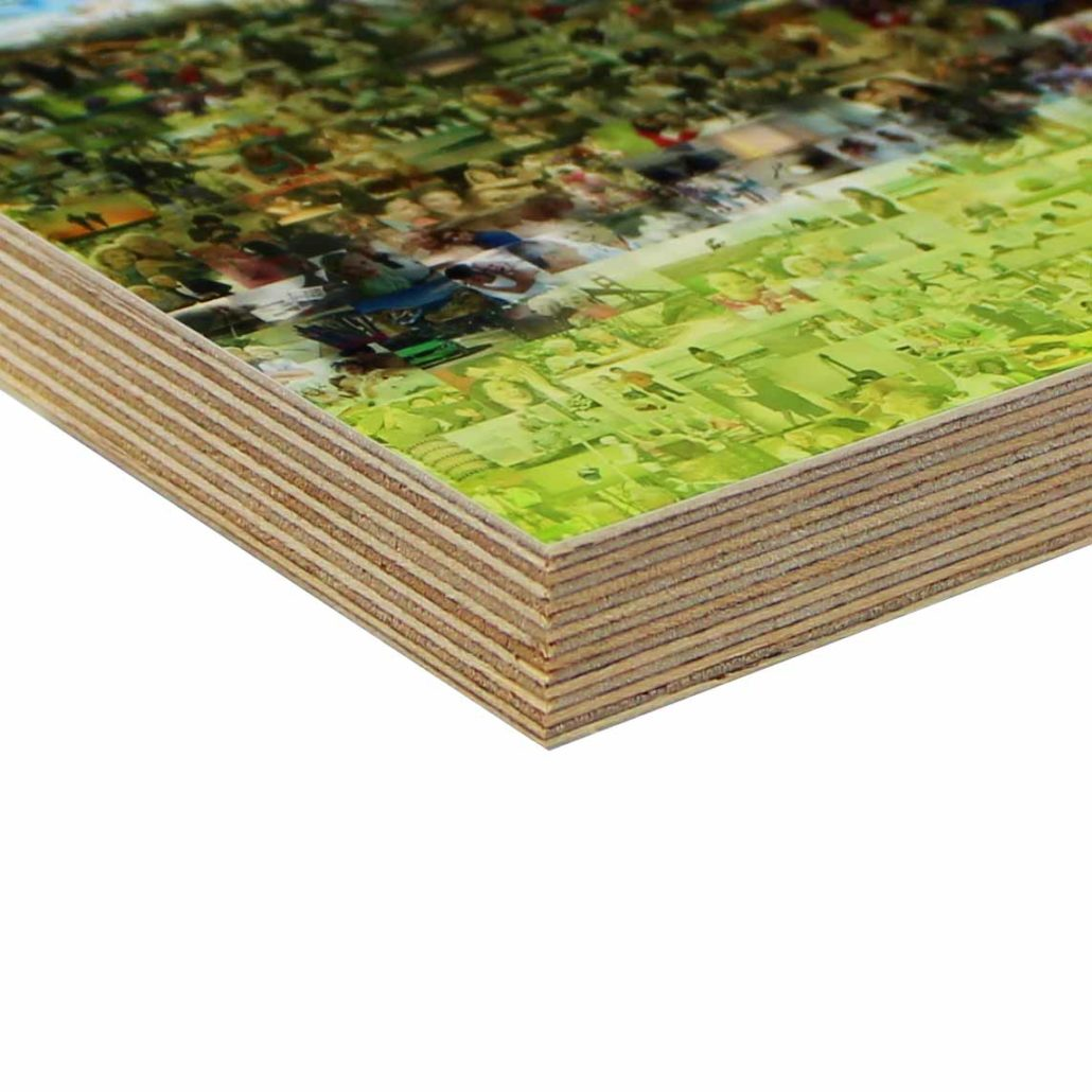 highest quality printing material: birch